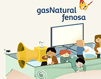Gas Natural Fenosa Infographics