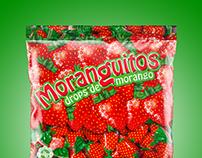 Moranguitos drops bag