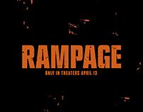 Rampage 2018- Alternative Movie Poster