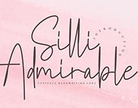 FREE | Silli Admirable Font