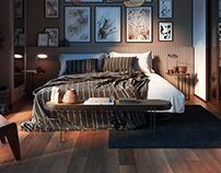 Vienna Straw bedroom