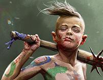 Survivor. Concept art.