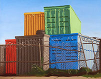 Shipping Containers in Redhook