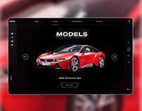 Luxury car Website design