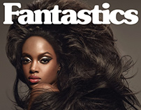 cover for Fantastics Magazine