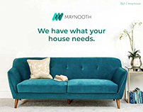 Maynooth's Furniture - UX case study and Web design