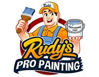 Professional Painting Company Mascot/Character Logo