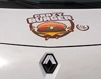 Custom cars by #lezzart Crazy burger