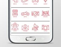 UI Design - Icons