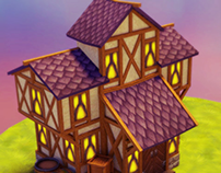 Medieval House | 3D project