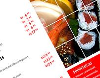 Cardápio Sushi