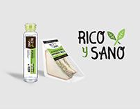 Packaging Design // Rico Y Sano