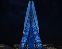 Skyscraper Concept Night