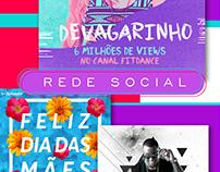 Cards - Redes Sociais 2016