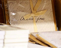 Thank you cards (Stationery set)