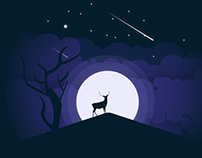 night illustration