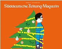 Süddeutsche Zeitung Magazin Christmas cover