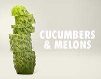 Club de Creativos y de Creativas. Cucumbers and Melons.