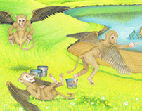 Flying Monkey Pranks