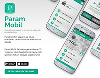 Param UI/UX Web Site Design
