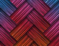 Vector background in color spectrum.