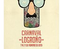 IMAGEN OFICIAL CARNAVAL LOGROÑO 2013