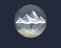 Christmas Magic Sphere   AE Template