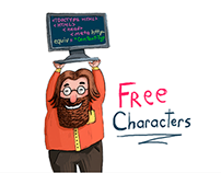 Free coder characters