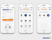 Access Bank Mobile App Design Challenge