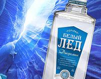 Разработка дизайна водки White Ice