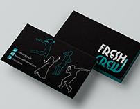 Logo - Business Card   Fresh Crew