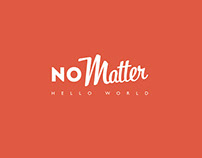 No Matter animation logo