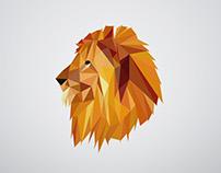 lion | polyart