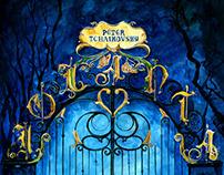 Peter Tchaikovsky's Iolanta Opera Poster