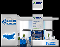 Exhibition stand for NBC