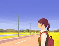 『京都産業大学ブランディングポスター 11月』