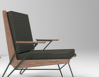 Pierre Guariche, Lounge Chair, 1953