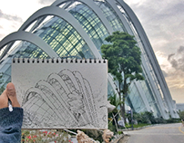 Urban Sketches in Singapore