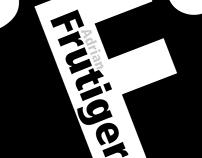 Frutiger Poster