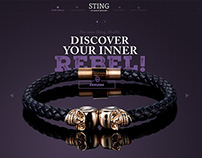 Sting Jewellery - New Website and Web Shop
