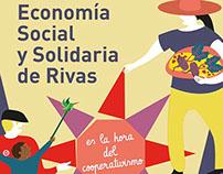 Illustration poster - I Feria de Economía Social