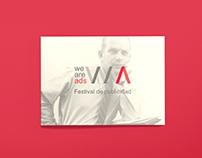 Dossier para el festival We Are Ads