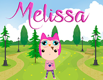 Melissa illustrated