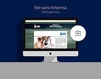 Site para Empresa CVN Engenharia