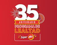 35 Aniversario Programa de Lealtad de Súper Akí