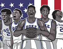 Duke Blue Devils: Road to Washington Promo Poster