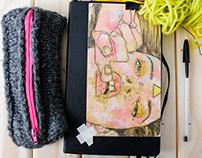 Projeto bordado como pintura: processo de trabalho