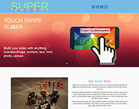 SuperFresh One Page Multipurpose Responsive Theme