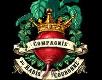 "LOGO ""Compagnie du Radis Couronné"""
