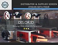 Distributor & Supplier Screen Ayakan Batu Pasir